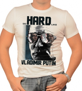 «go hard like vladimir putin»