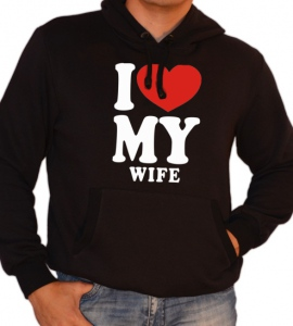 «I love my wife»