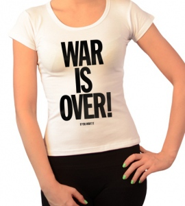 «War is Over»
